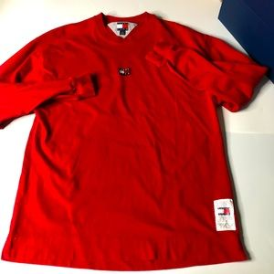 Tommy Hilfiger x Kith Red Small Crewneck Sweater